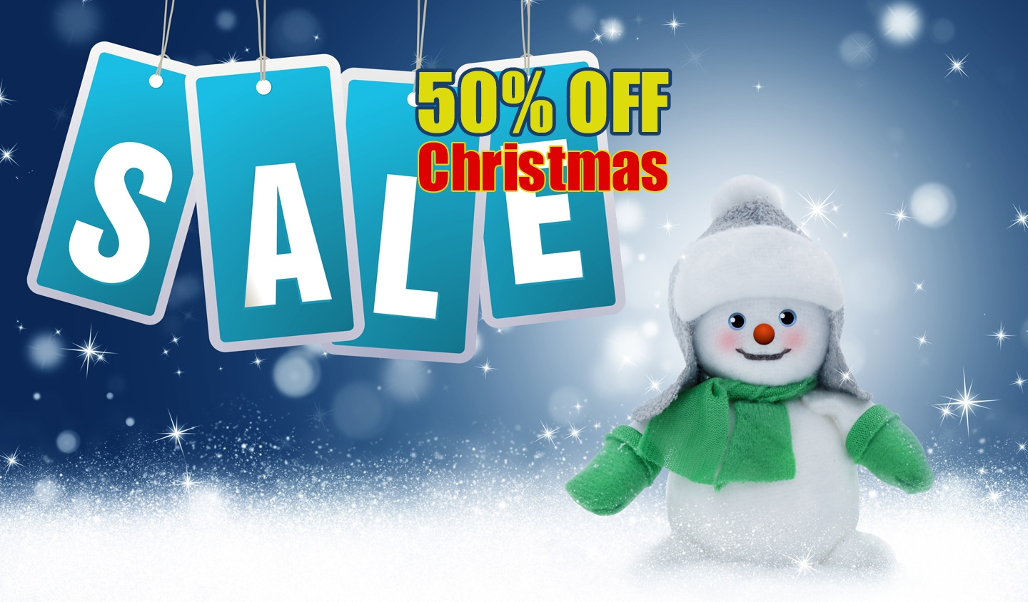 Christmas Sale, 50% OFF Christmas