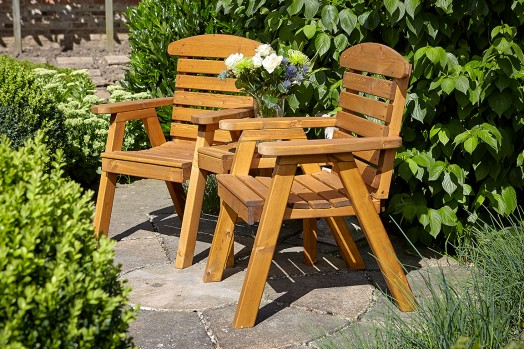 Hetton Companion Seat set (flat pack) £199.99