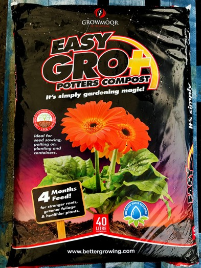 3 bag 40 ltr Potter multipurpose compost