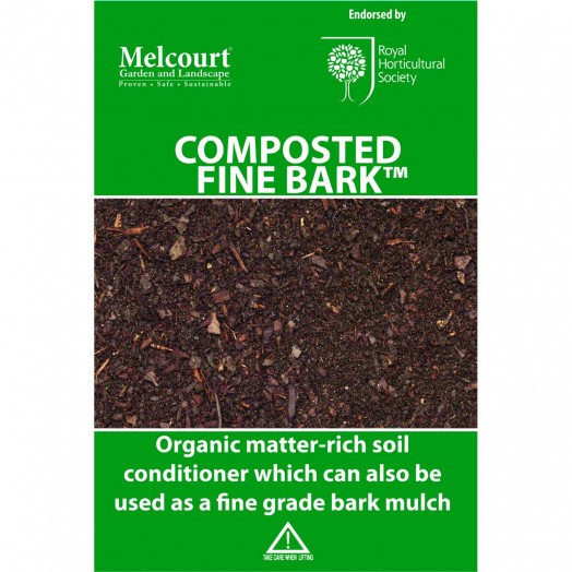 Melcourt Composted Fine Bark Mulch 50ltr