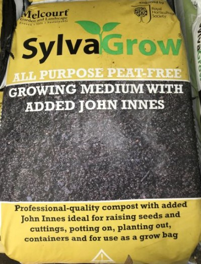 Sylvagrow Peat free Multi purpose with added John Innes compost 50ltr