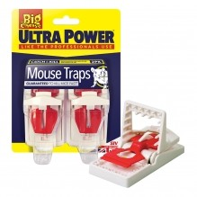 Ultra twin pack mouse traps